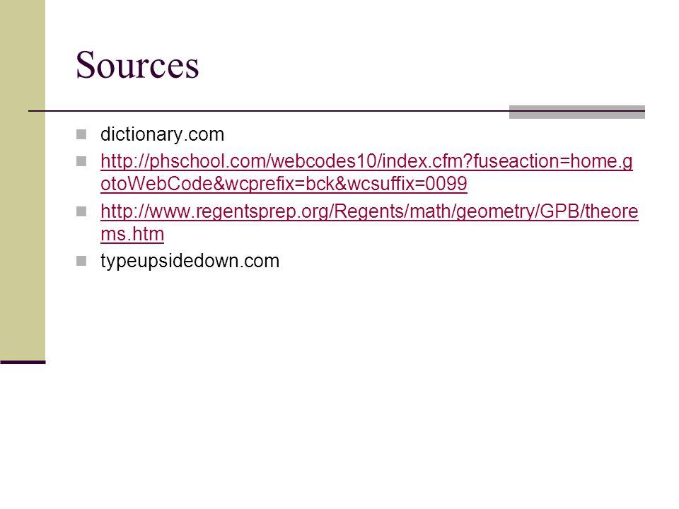 Sources dictionary.com