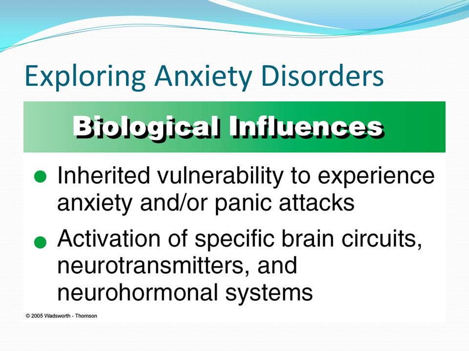 Exploring Anxiety Disorders