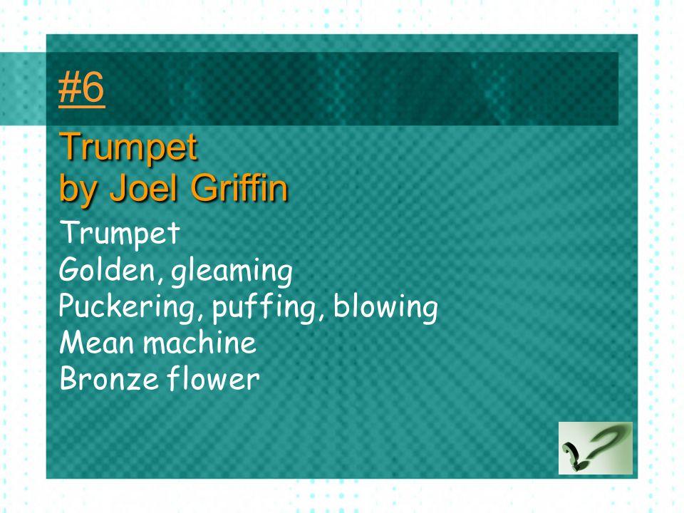 #6 Trumpet by Joel Griffin Trumpet Golden, gleaming