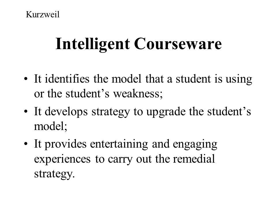 Intelligent Courseware