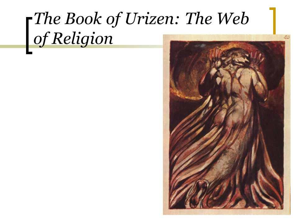 The Book of Urizen: The Web of Religion