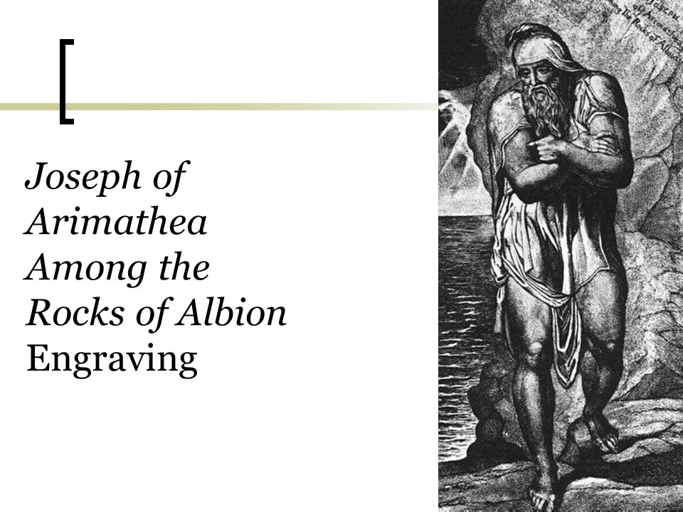 Joseph of Arimathea Among the Rocks of Albion Engraving