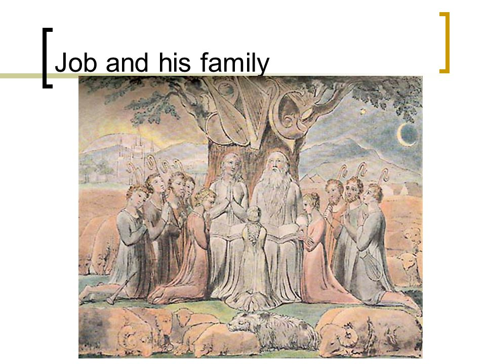 Job and his family