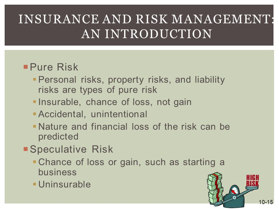 Insurance and Risk Management: An Introduction