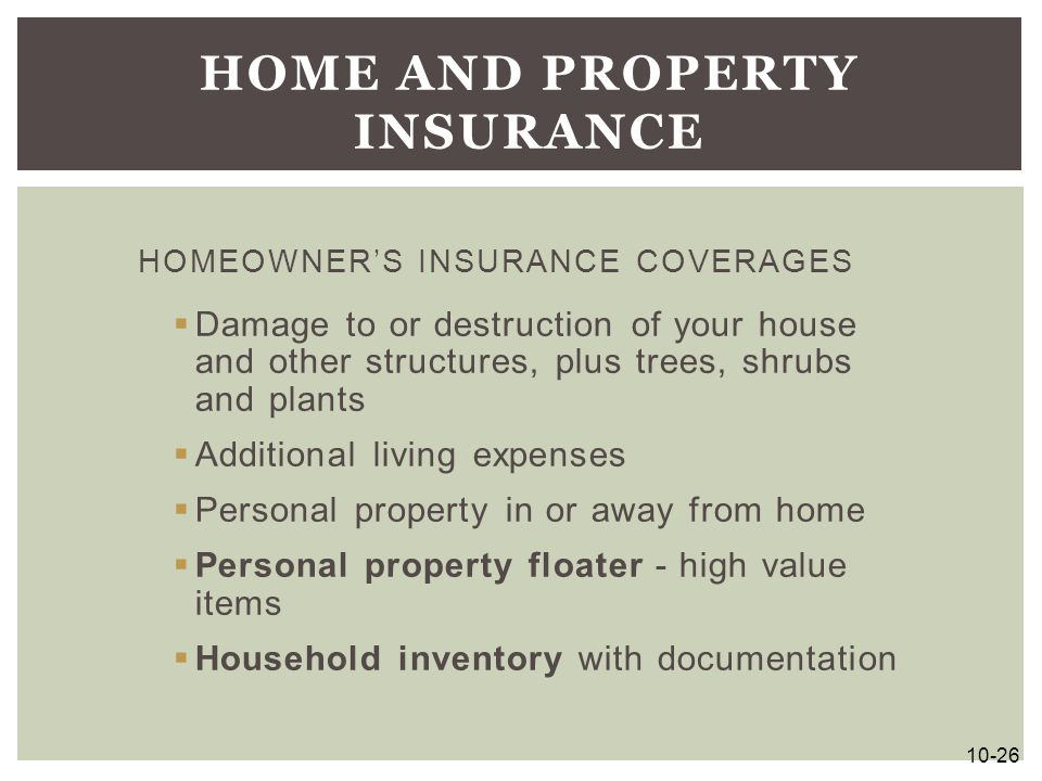 Home and Property Insurance