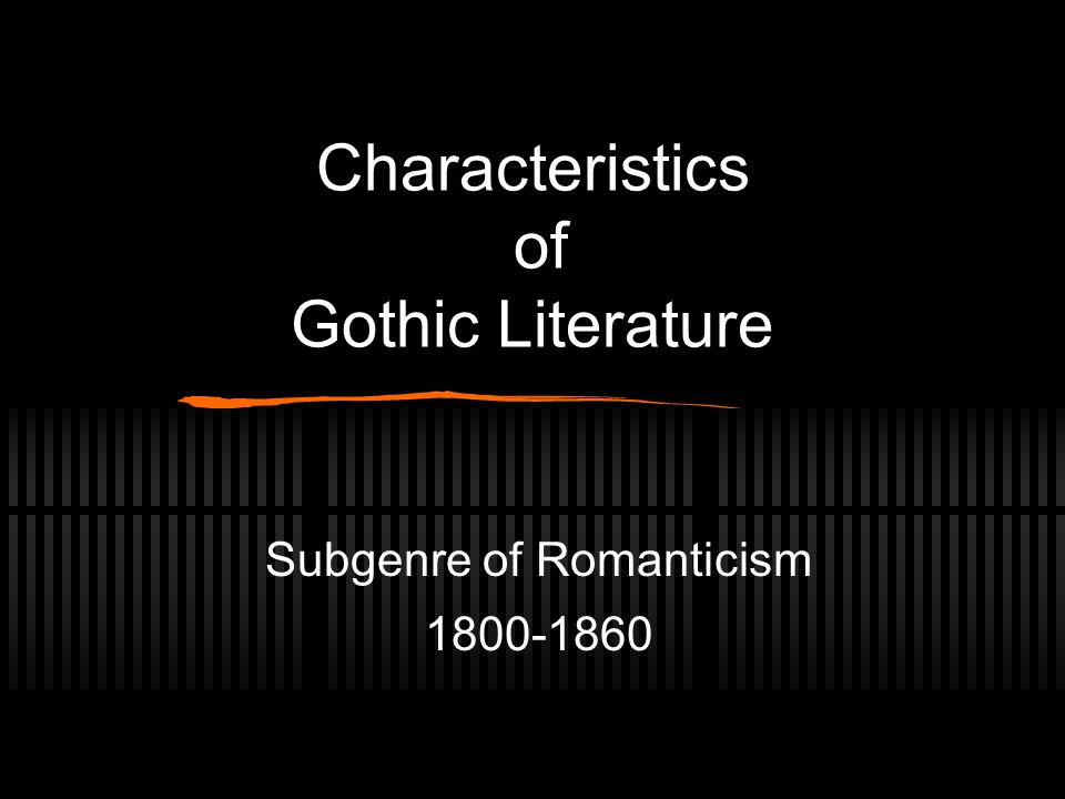 the characteristics of romanticism in literature Nothing is what it appears to be in the scarlet letter, and that is the essence of hawthorne's particular romanticism separate from his literary production.