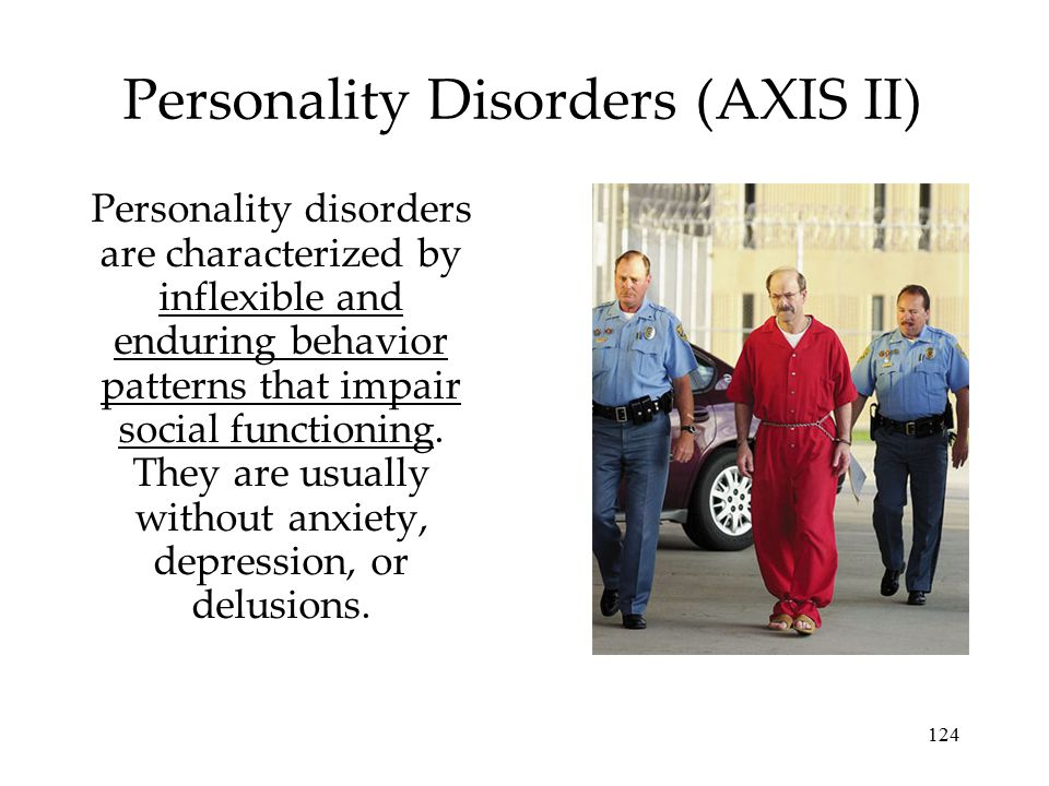 Personality Disorders (AXIS II)