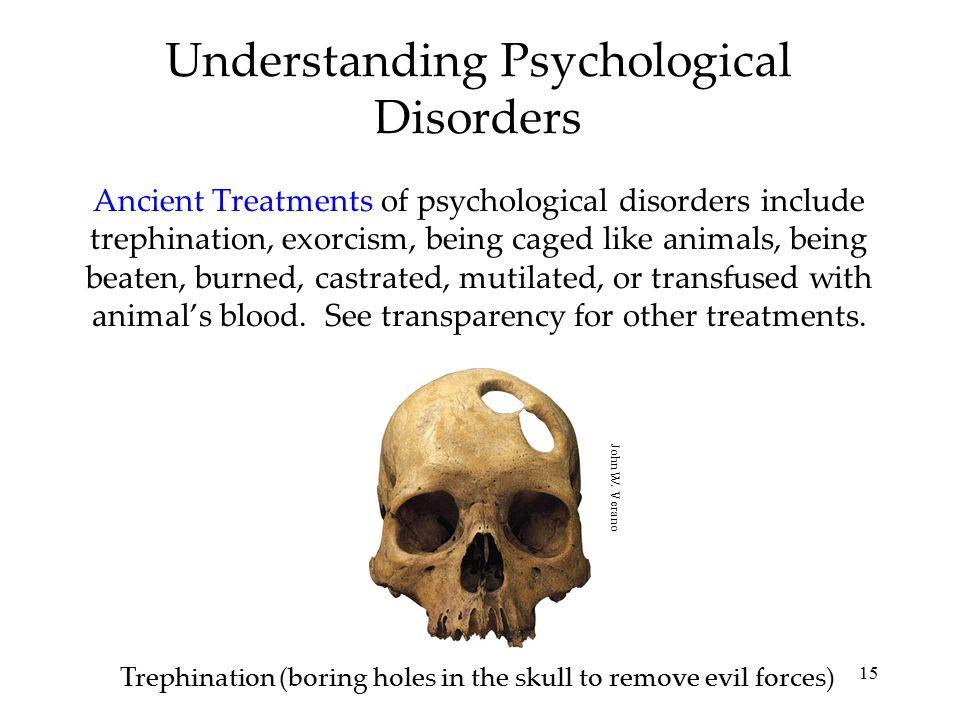 Understanding Psychological Disorders