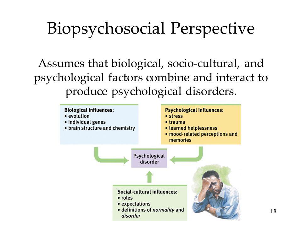 Biopsychosocial Perspective