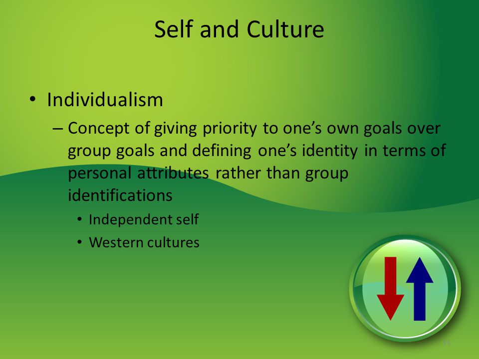 Self and Culture Individualism