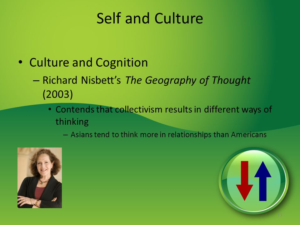 Self and Culture Culture and Cognition