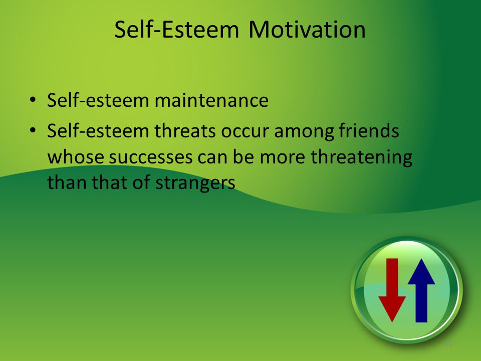 Self-Esteem Motivation