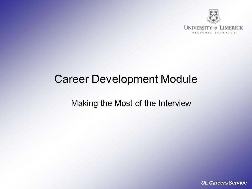 Career Development Module