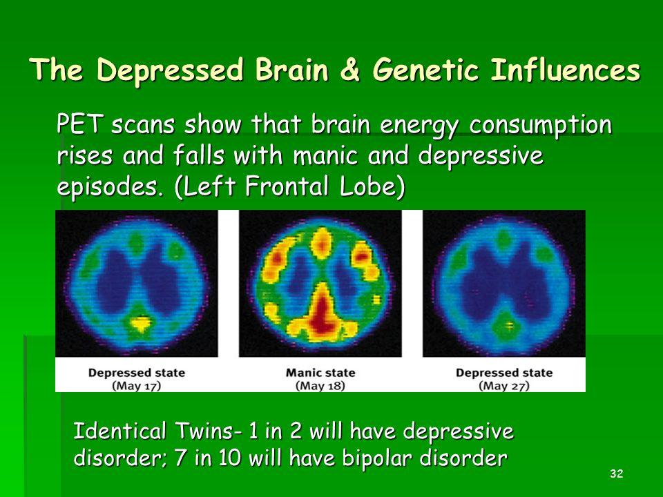 The Depressed Brain & Genetic Influences