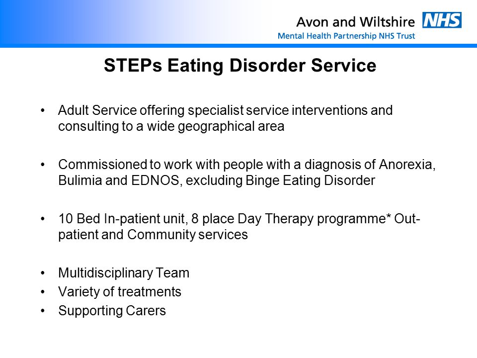 STEPs Eating Disorder Service