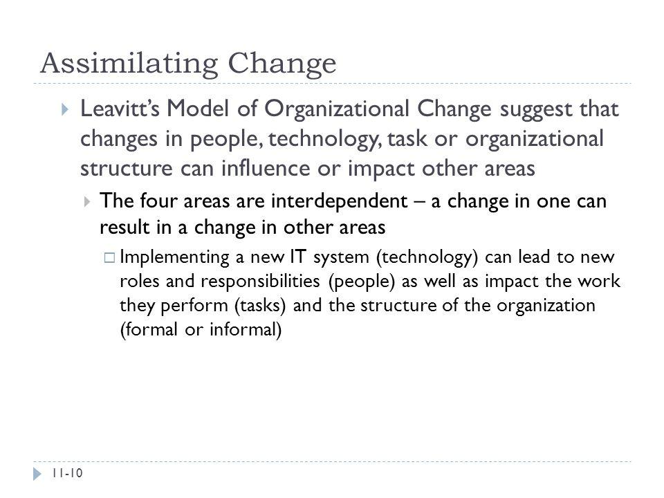 Assimilating Change