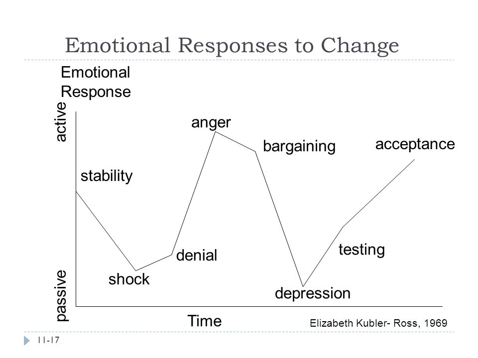 Emotional Responses to Change