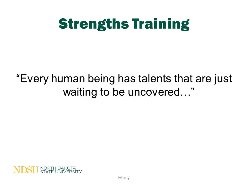 Every human being has talents that are just waiting to be uncovered…