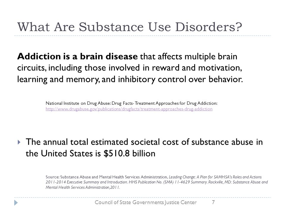 What Are Substance Use Disorders