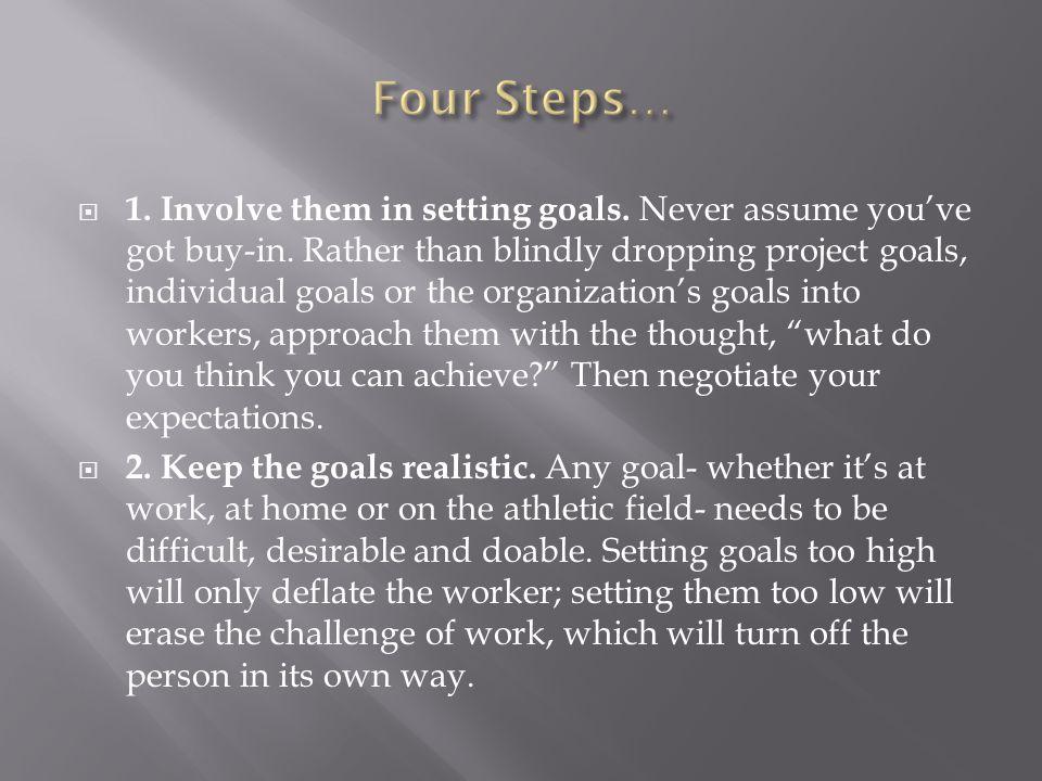 Four Steps…
