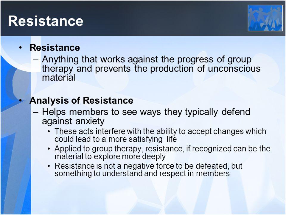 Resistance Resistance