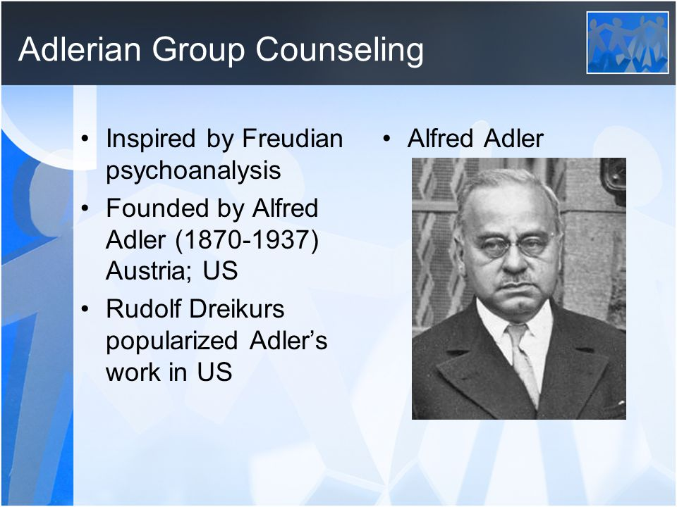 Adlerian Group Counseling
