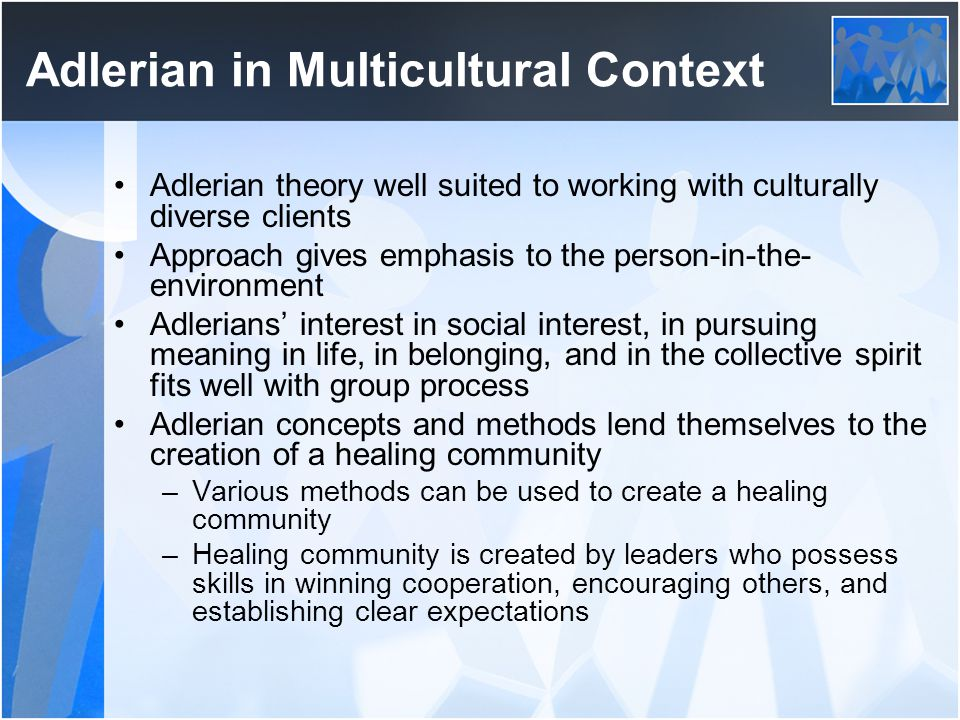 Adlerian in Multicultural Context