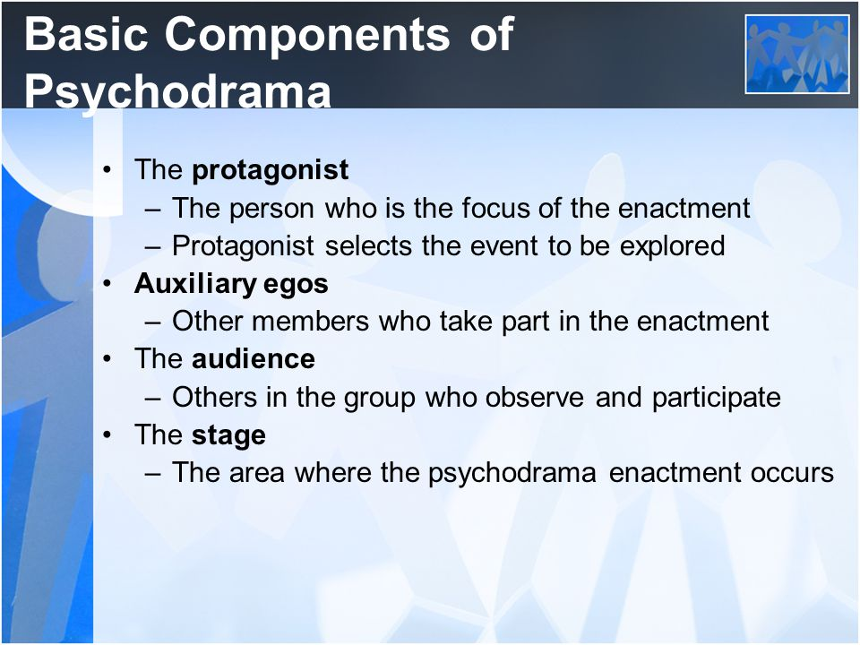 Basic Components of Psychodrama