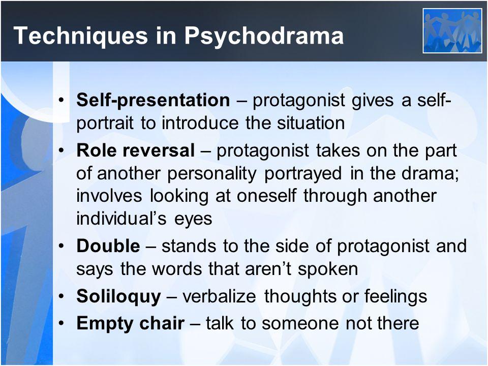 Techniques in Psychodrama