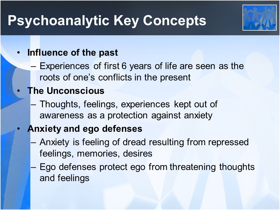 Psychoanalytic Key Concepts