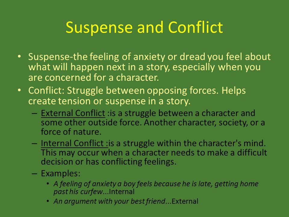 Suspense and Conflict