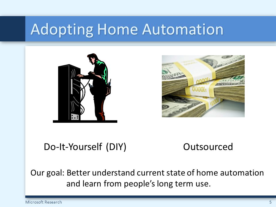 Adopting Home Automation