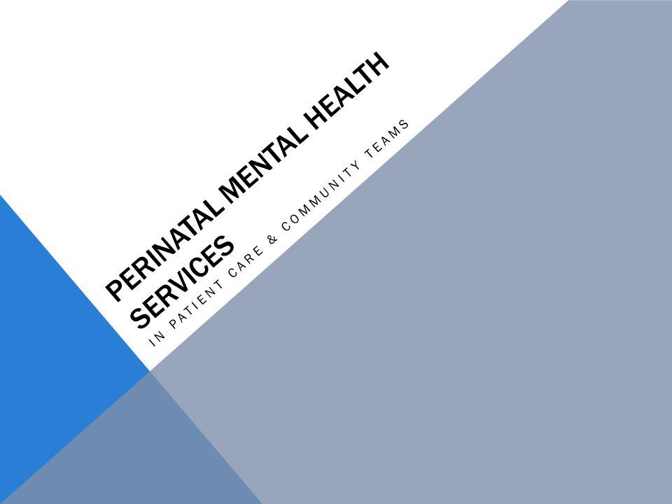 Perinatal Mental Health Services