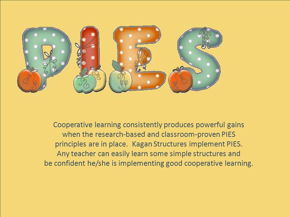 Cooperative learning consistently produces powerful gains