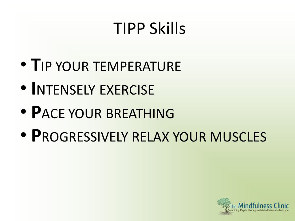 PROGRESSIVELY RELAX YOUR MUSCLES