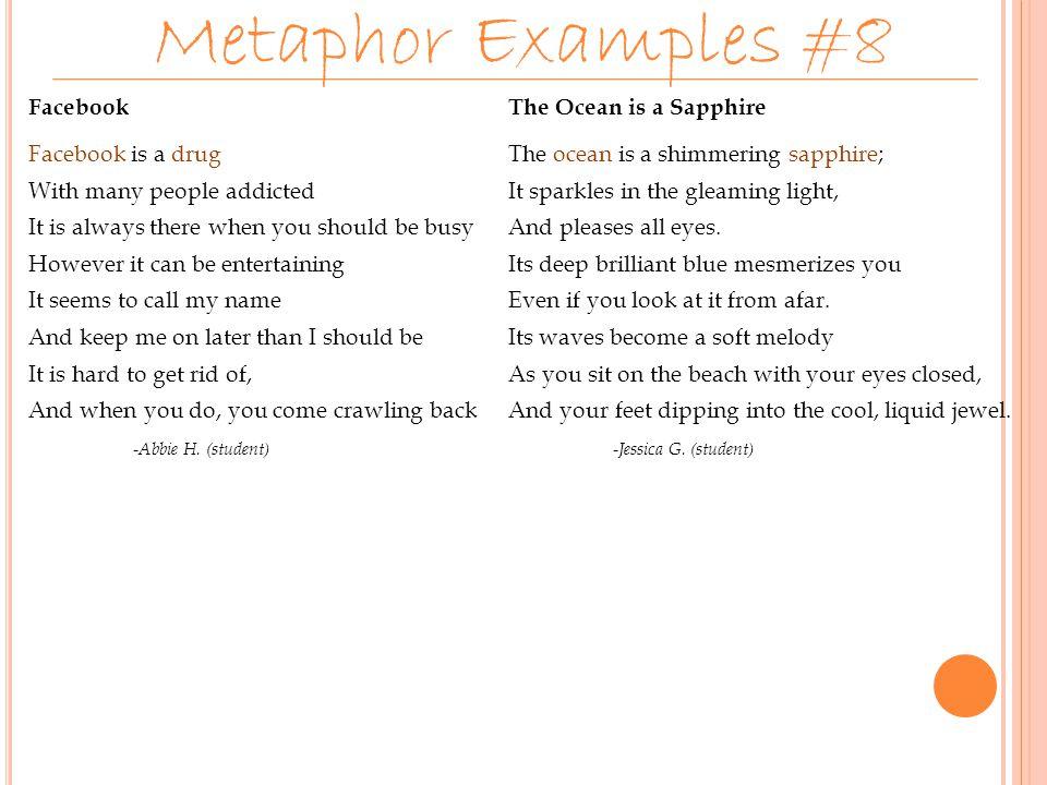 Metaphor Examples #8