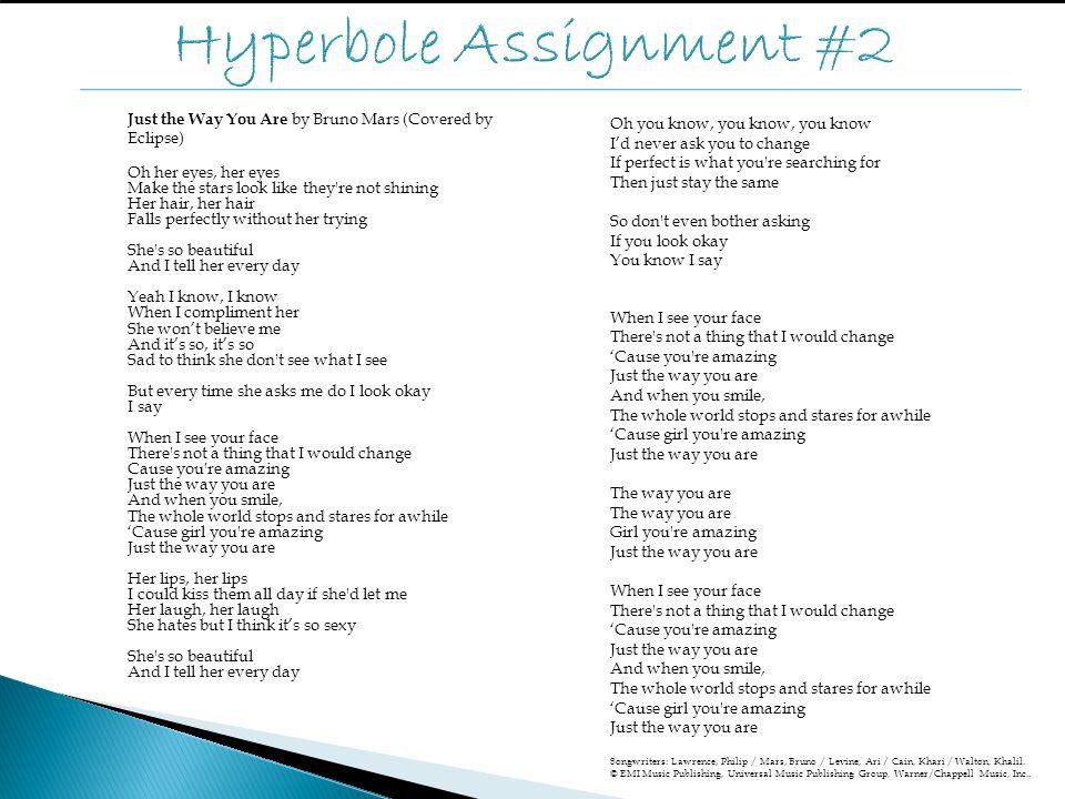Hyperbole Assignment #2