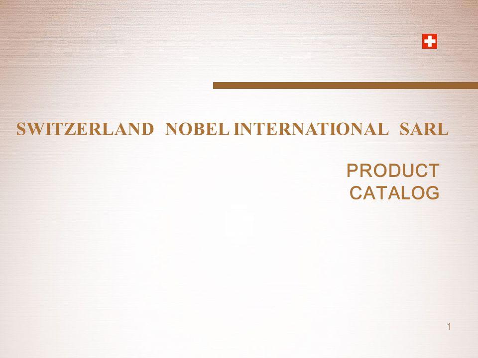 SWITZERLAND NOBEL INTERNATIONAL SARL