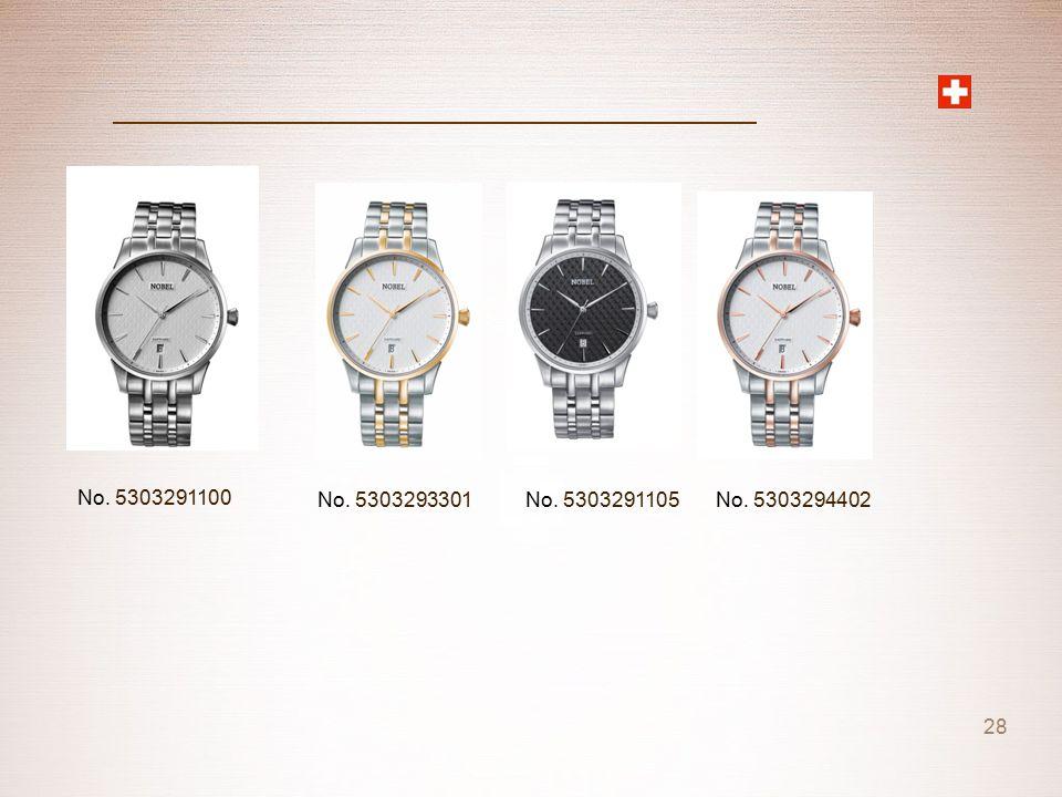 No. 5303291100 No. 5303293301 No. 5303291105 No. 5303294402