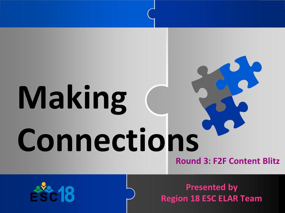 Round 3: F2F Content Blitz