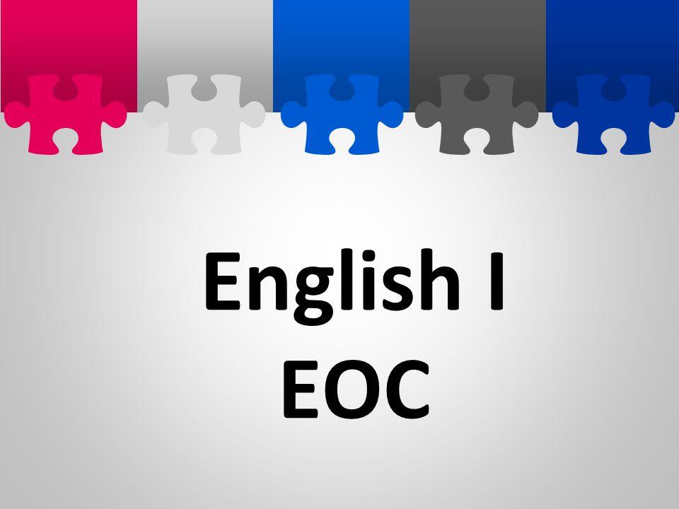 English I EOC