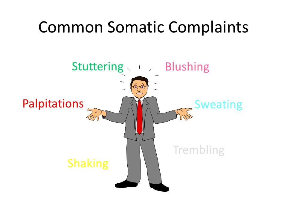Common Somatic Complaints