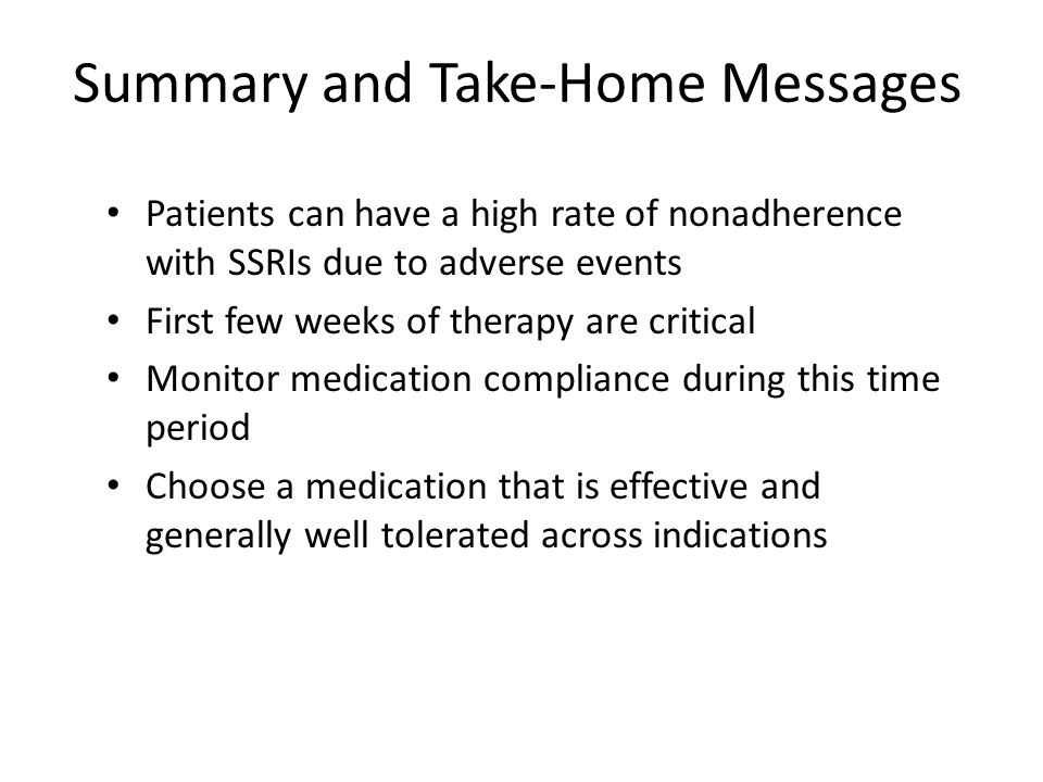 Summary and Take-Home Messages