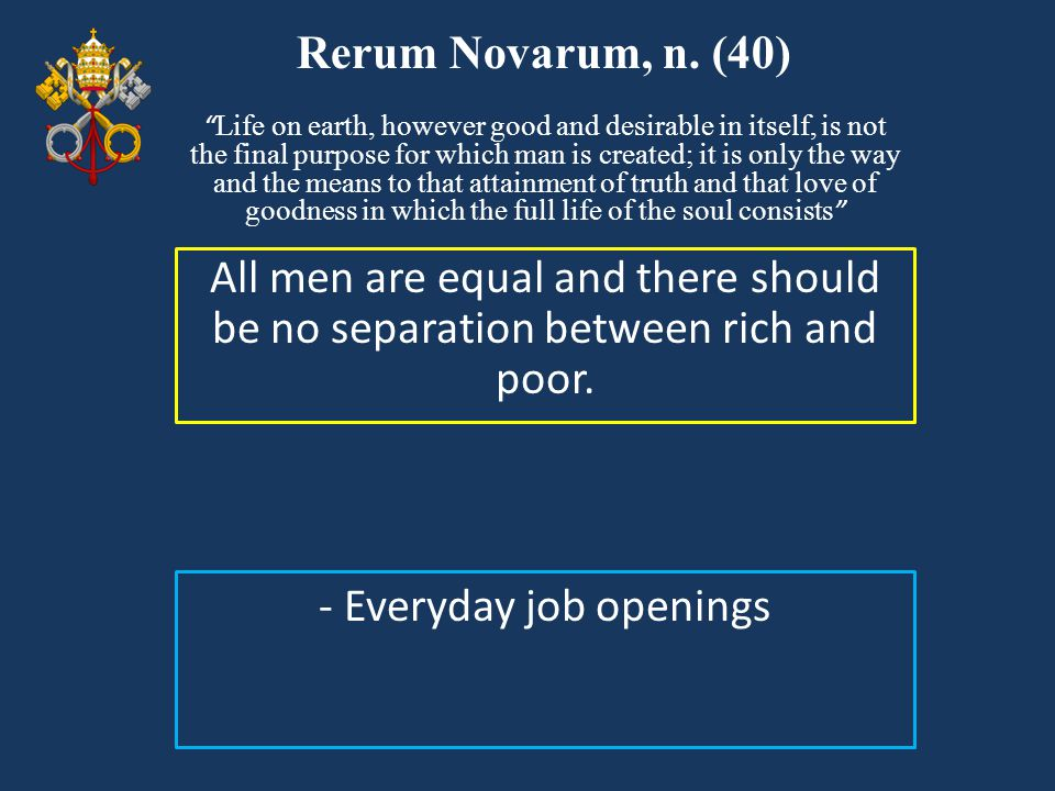 - Everyday job openings