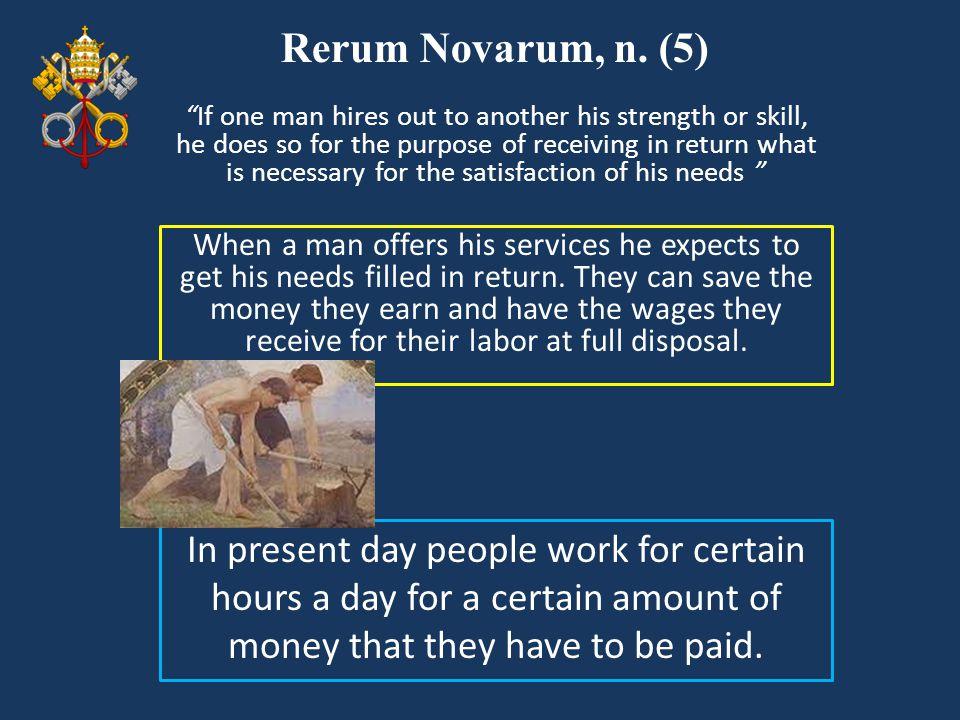 Rerum Novarum, n. (5)