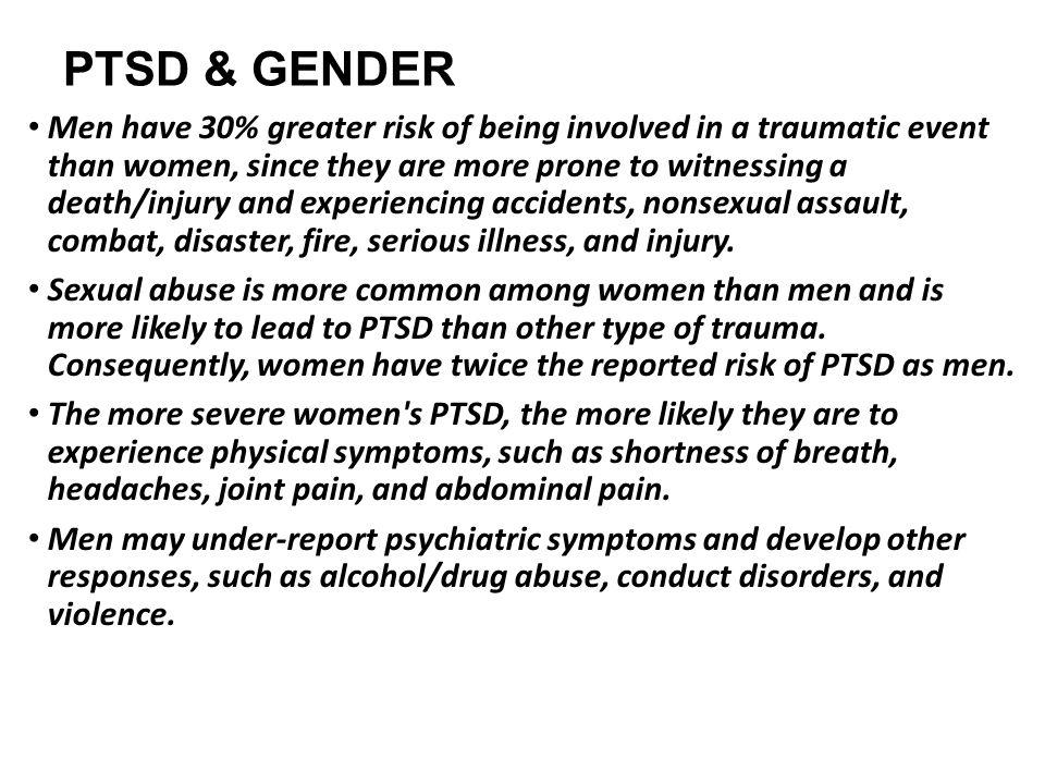 PTSD & GENDER