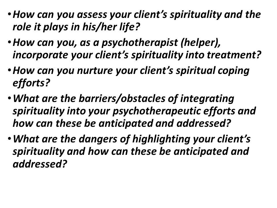How can you nurture your client's spiritual coping efforts