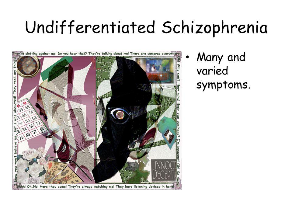 Undifferentiated Schizophrenia