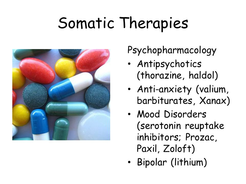 Somatic Therapies Psychopharmacology