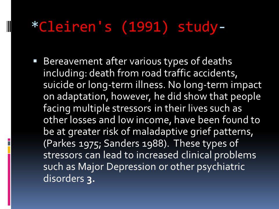 *Cleiren s (1991) study-
